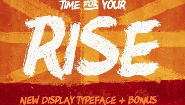 RISE Typeface + Bonus