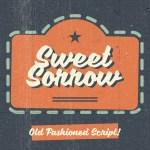 Sweet Sorrow Script Font