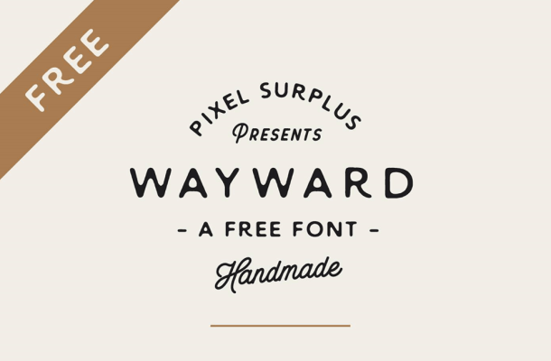 Wayward – Free Hand Letter Font