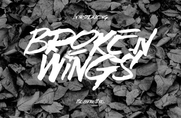 Broken Wings – Free Font Download