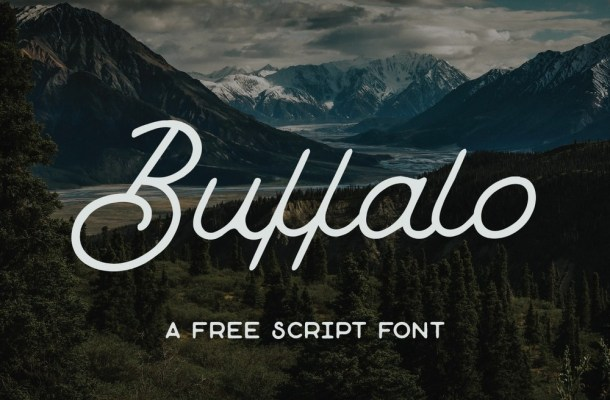 Buffalo – Free Script Font