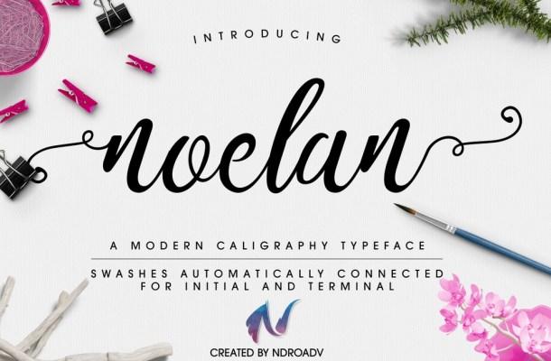 Noelan Script – Free Typeface