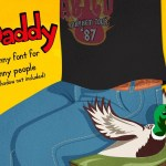 Daddy – A Fun Free Font