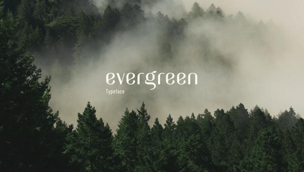 Evergreen Free Wedding Font