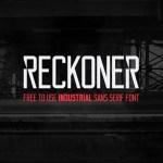 Reckoner Font Free Download