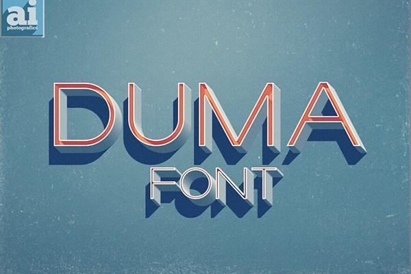 Duma Font Download