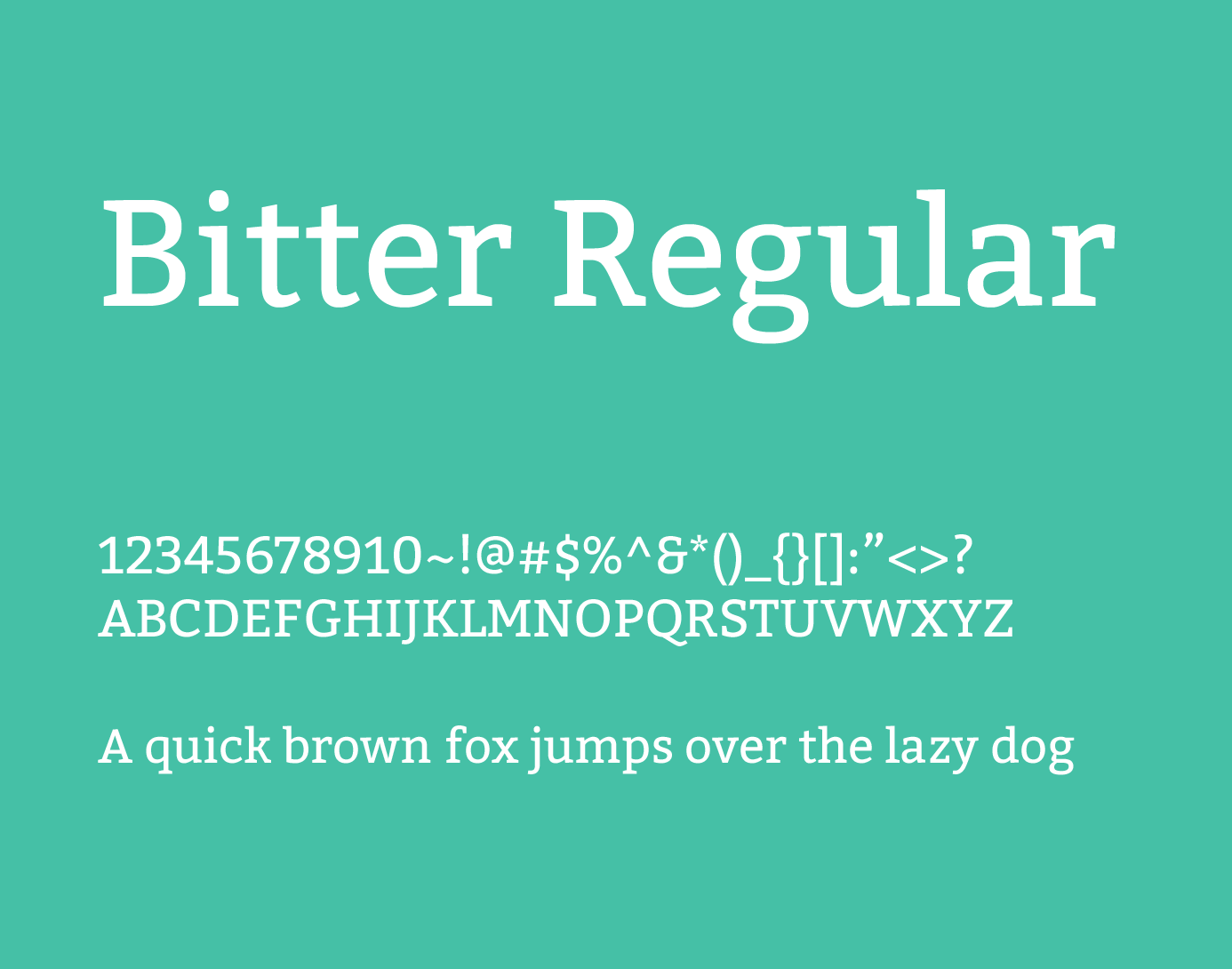 bitter regular