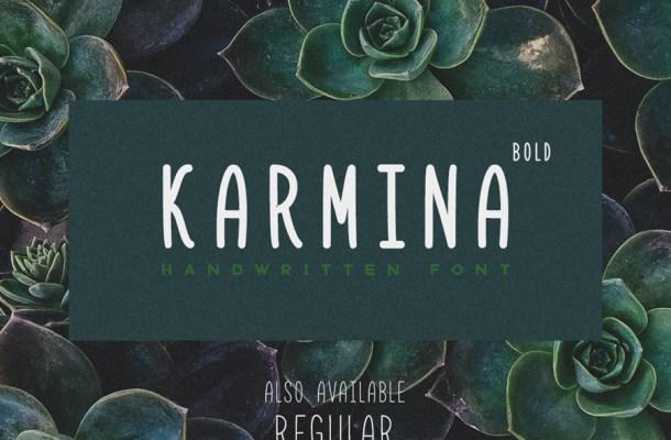 Karmina Free Handwritten Font