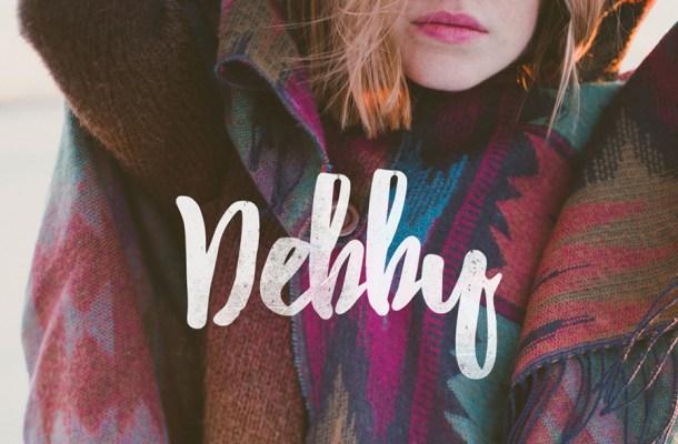 Debby Free Brush Font