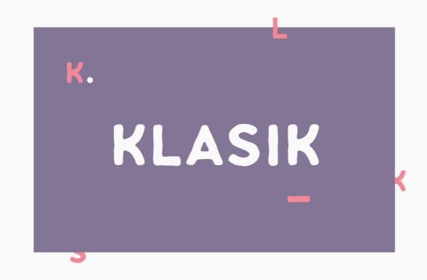 Klasik Sans Free Font Family