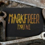 Markfreer Free Hand Drawn Font