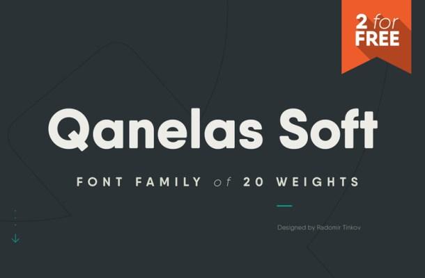 Qanelas Soft Font