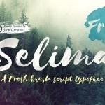 Selima Brush Script