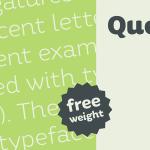 Quenda Free Typeface