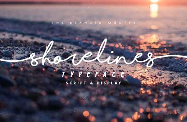 Shorelines Font