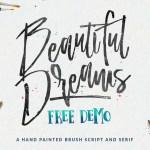 Beautiful Dreams Free Font