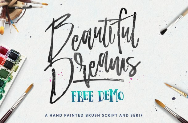 Beautiful Dreams Free Font