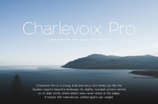 Charlevoix Pro Free Demo Font