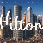 Hilton Font Family Free