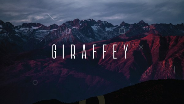 Giraffey Display Free Font
