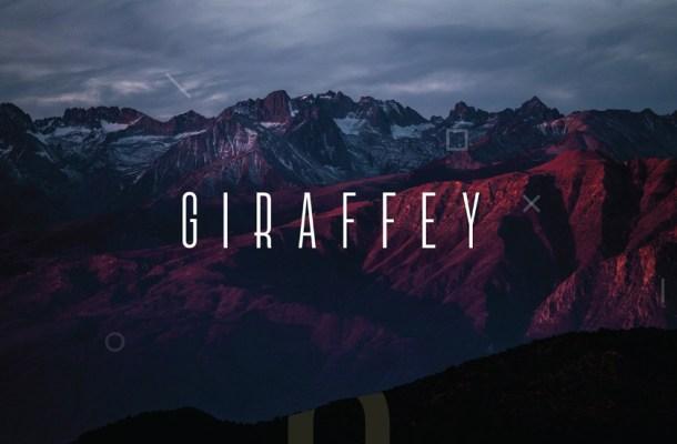 Giraffey Display Free Font