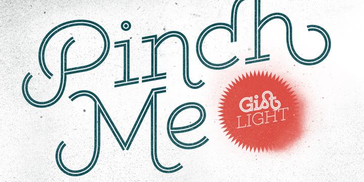 Gist Light Font - Free Fonts