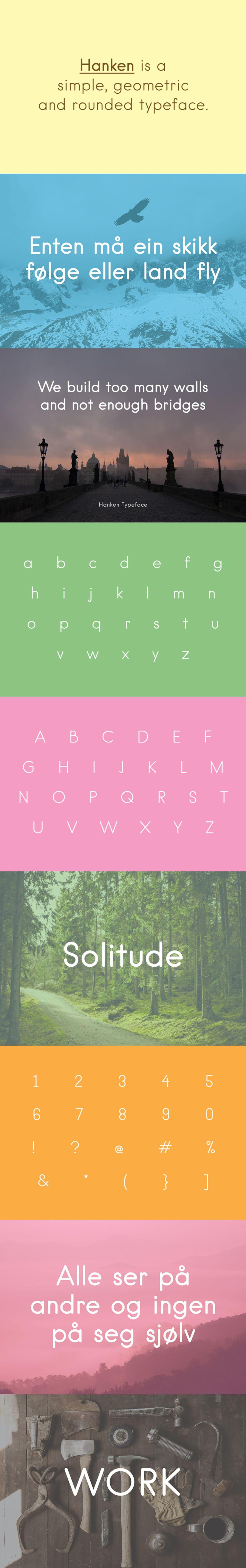 Hanken Free Font