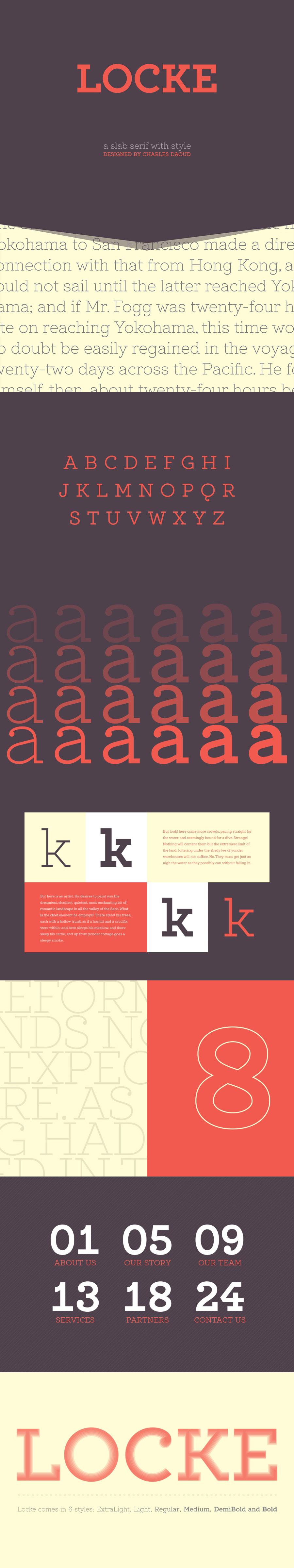 Locke typeface