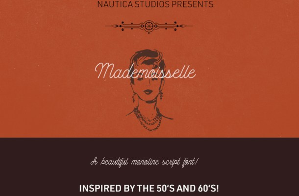 Mademoiselle Script Free Typeface