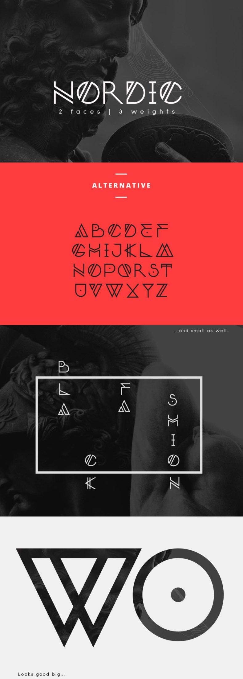 Nordic Free Font - Free Design Resources