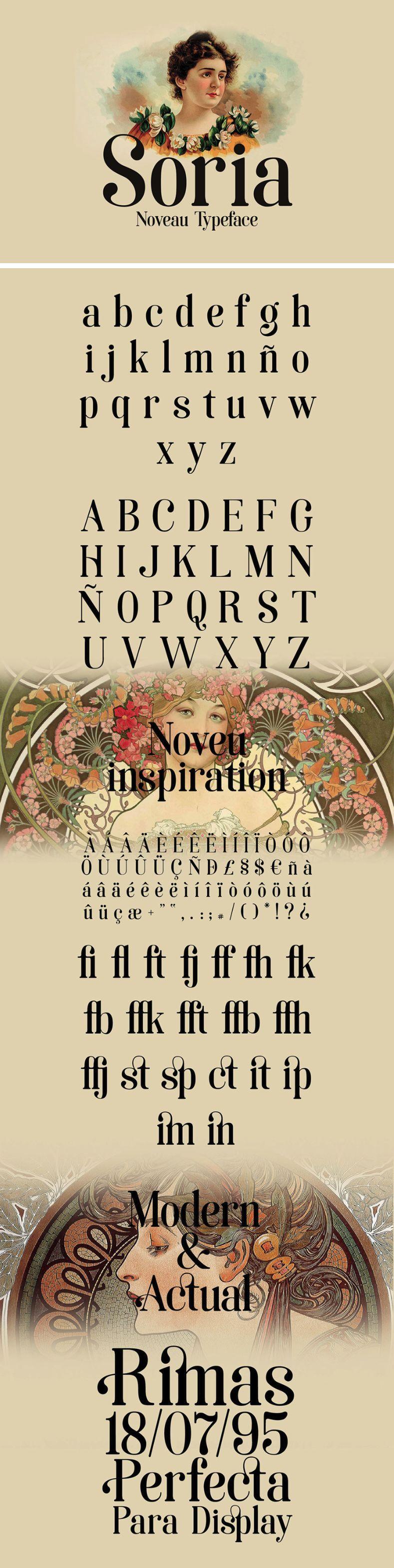 Soria Free Serif Font - Free Fonts