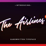 Airlines Free Script Font
