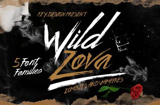 Wild Zofa Grunge Free Font