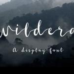 Wildera Script Free Font