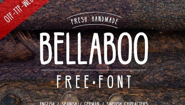 Bellabo Free Font