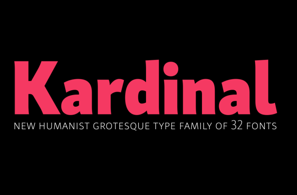 Kardinal Font Family Free