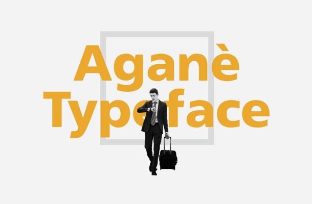 Aganè Free Font Family