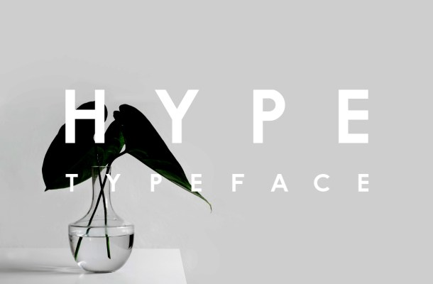 Hype Free Typeface