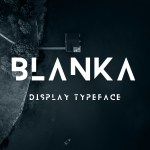 Blank Free Display Font