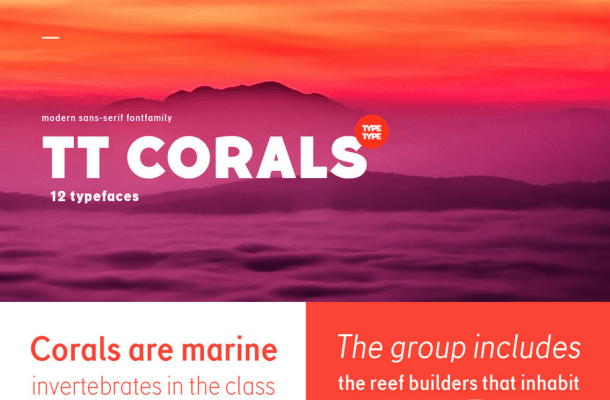 Corals Grotesque Free Font