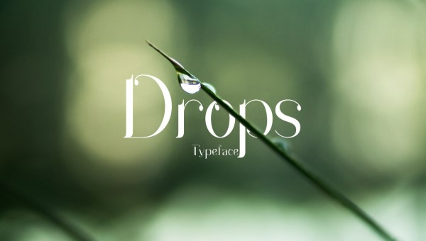 Drops Free Serif Typeface