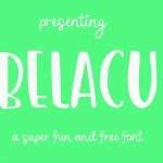 Belacu Free Font