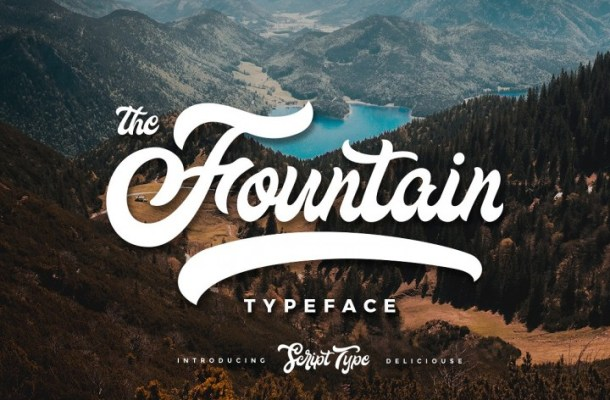 Fountain Demo Font Free