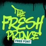 Fresh Prince Free Font