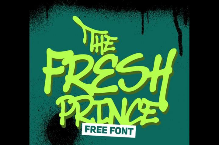 Fresh Prince Font 2