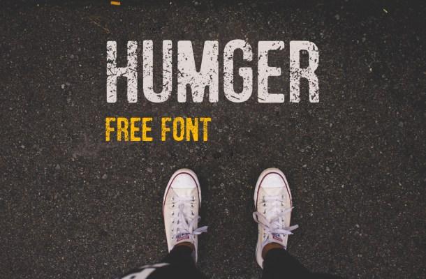 Humger Free Vintage Font