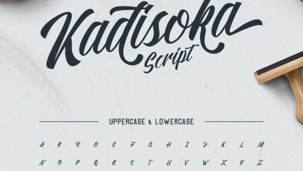 Kadisoka Free Script Font