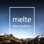 Melte Free Display Font