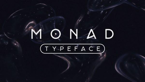 Monad Free Sans Serif Font