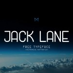 Jack Lane Free Font